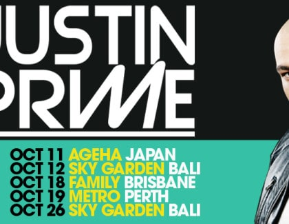 Justin Prime Full Tour Dates Australasia 2013