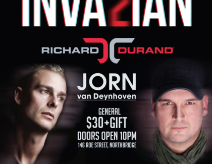 Richard Durand & Jorn Van Deynhoven Hit Metro City Perth.