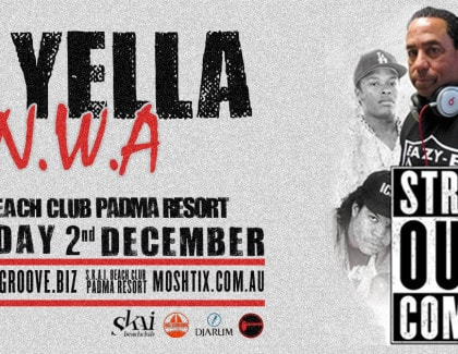 DJ YELLA (N.W.A) AT S.K.A.I. BEACH CLUB BALI