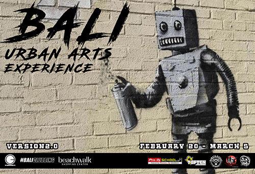 BALI URBAN ARTS EXPERIENCE 2.0