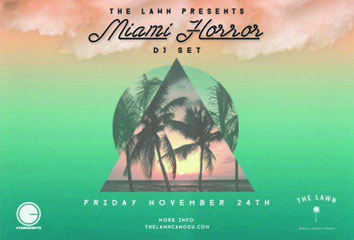 Miami Horror at The Lawn Canggu – Bali