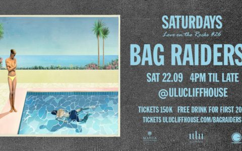 Bag Raiders Saturday Sept 22 at Ulu Cliffhouse.