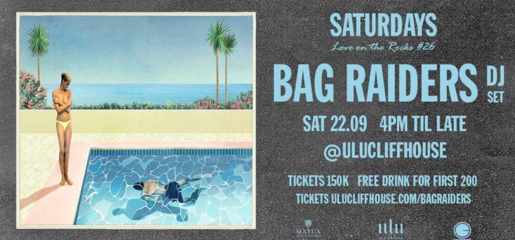 Bag Raiders Saturday Sept 22 at Ulu Cliffhouse.